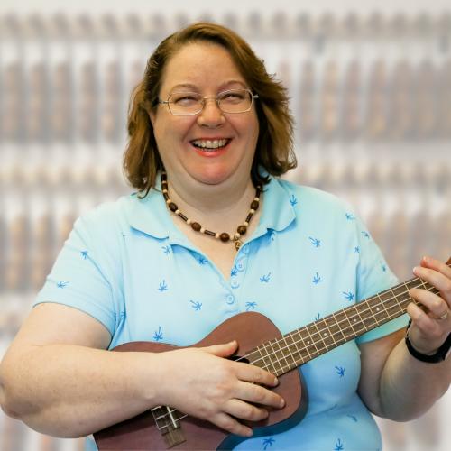 Stephanie Tamashiro ukulele instructor